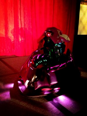 Autodesk Hyperspace Madness TriloBot Mk1 debuts at Collider 2013